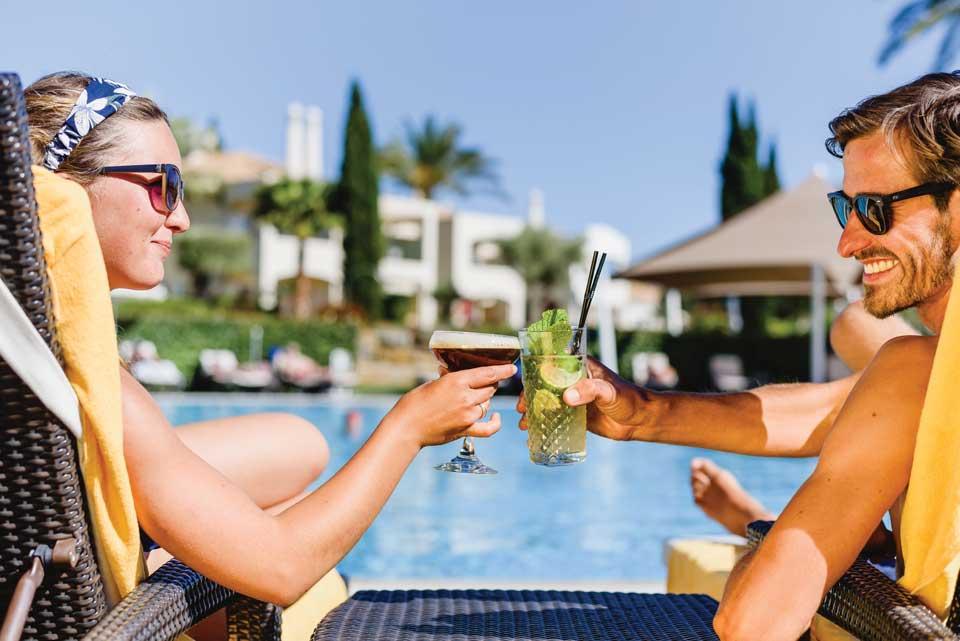 Vale D'Oliveiras Resort Algarve Jasmin Pool Bar